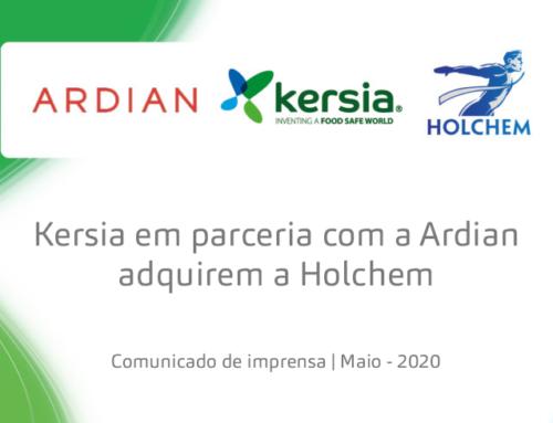 Kersia realiza a aquisição da Holchem