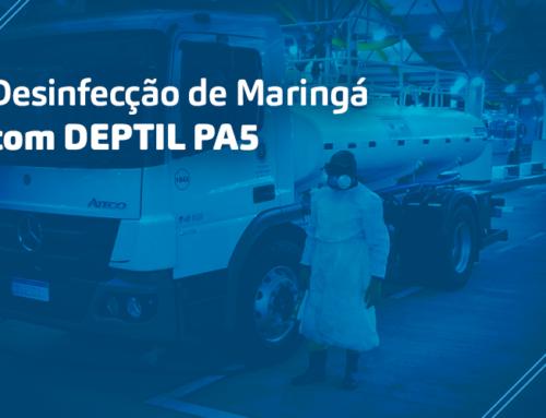 Kersia, Deptil PA5 e Prefeitura de Maringá em ação na limpeza de áreas urbanas contra o novo COVID-19 em Maringá!